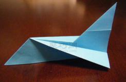 大型客机折叠方法图解 如何折纸飞机客机