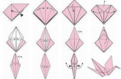千纸鹤折纸:叠千纸鹤的步骤详解(简单图文版)